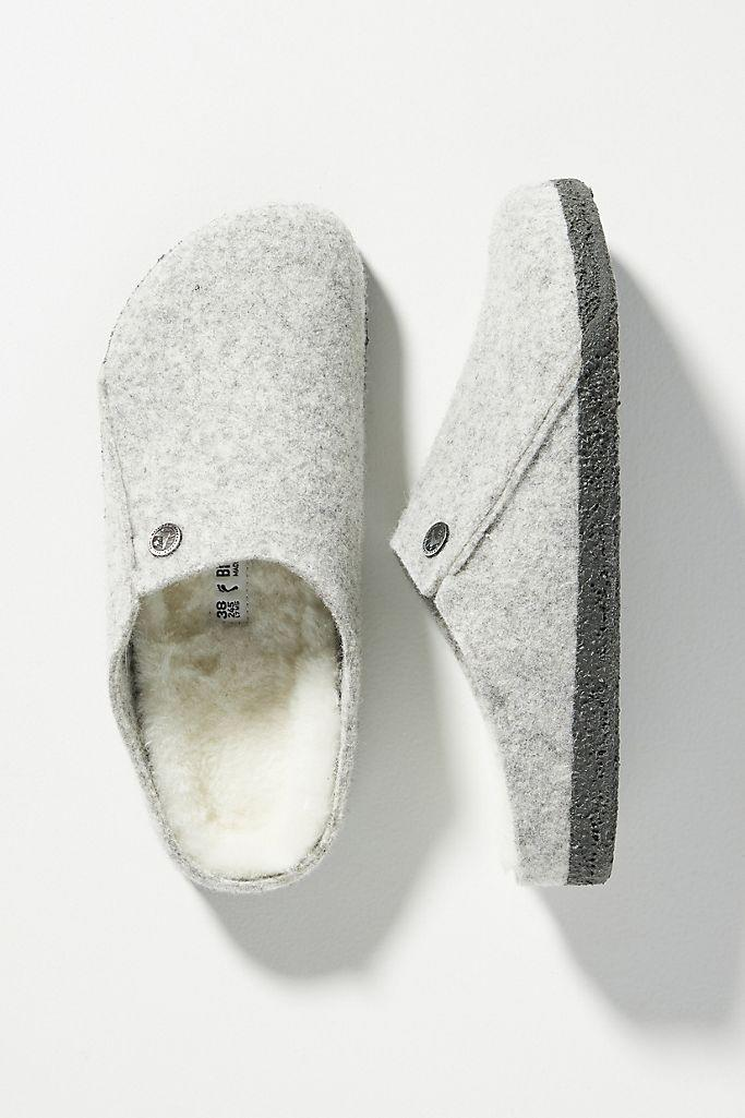 Birkenstock Zermatt Shearling-Lined Clogs . Image via Anthropologie