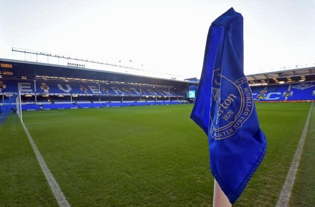 Could matches at Goodison Park be played behind closed doors if the outbreak intensifies? (Anthony Devlin/PA)