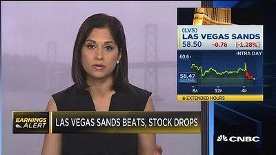 "CNBC's Aditi Roy reports on the after-hours action for Las Vegas Sands, including what CEO Sheldon Adelson had to say on the conference call. The ""Fast Money"" traders weigh in."
