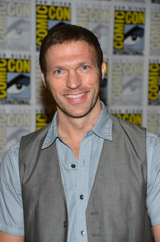 """SAN DIEGO, CA - JULY 13:  Travis Knight attends """"Paranorman"""" during Comic-Con International 2012 held at the Hilton San Diego Bayfront Hotel on July 13, 2012 in San Diego, California.  (Photo by Frazer Harrison/Getty Images)"""