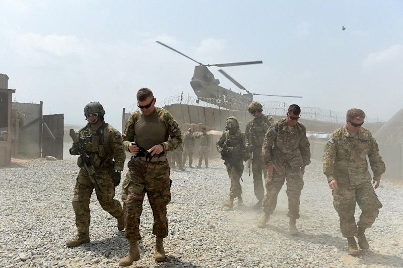 NATO ended its combat mission in Afghanistan last December but some 13,000 troops stayed on for training and counter-terrorism operations (AFP Photo/Wakil Kohsar)