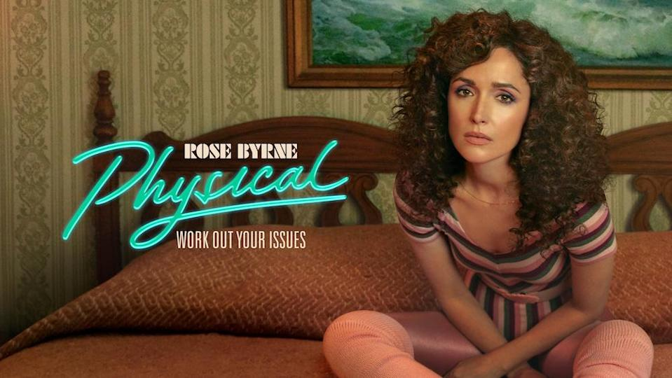 'Physical' starring Rose Byrne is getting a lot of deserved buzz for its hilarious take on the era of aerobic fitness gurus. — Picture courtesy of Apple