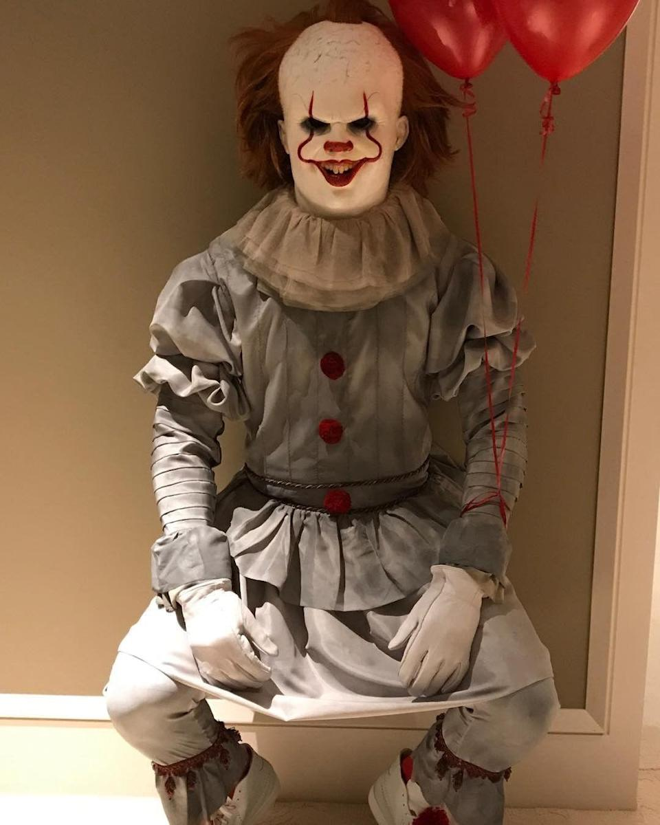 "<p>While many decided to terrify us as the <a href=""https://www.goodhousekeeping.com/holidays/halloween-ideas/a46603/pennywise-it-makeup-transformation-surprise/"" rel=""nofollow noopener"" target=""_blank"" data-ylk=""slk:It character"" class=""link rapid-noclick-resp""><em>It</em> character</a>, LeBron's continues to haunt us. </p>"