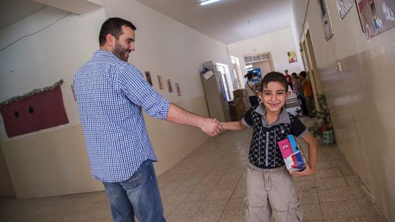 With Country In Turmoil, Iraq War Veterans Become Humanitarians