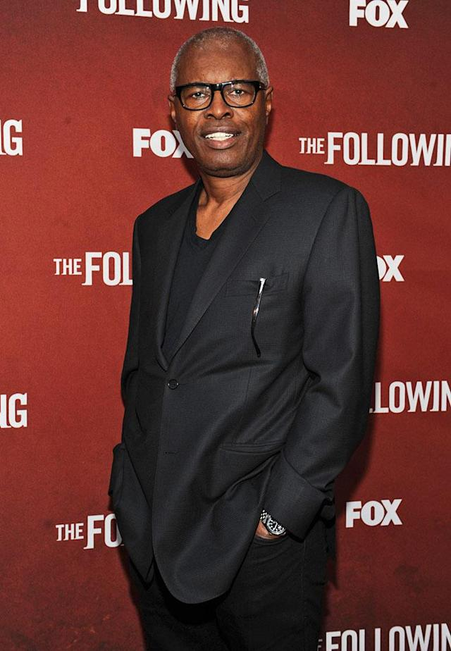 """John Lafayette attends """"The Following"""" Academy Screening and Q&A at the Leonard H. Goldenson Theatre on Monday, April 29."""
