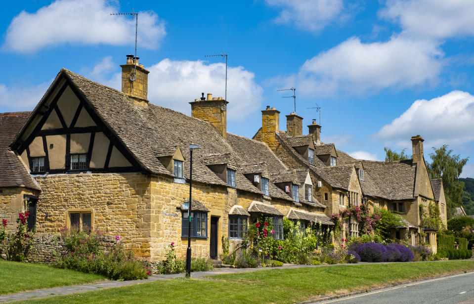 Cotswold cottages. Photo: Dominic Jones/Loop Images/Universal Images Group via Getty Images
