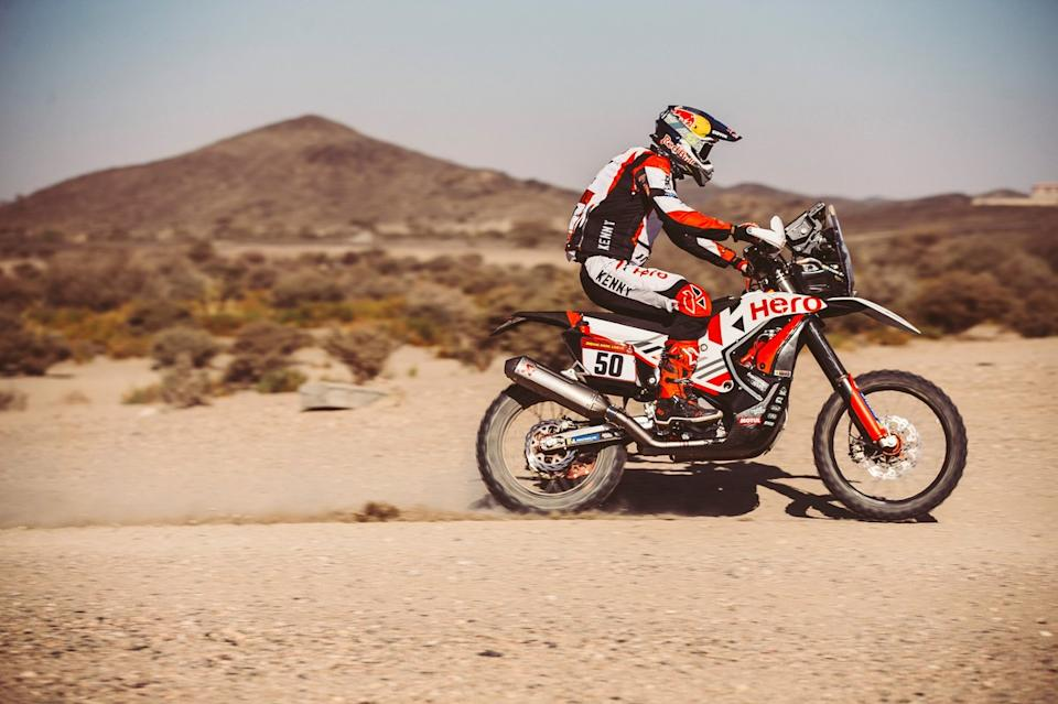 "#50 Hero Motorsports Team Rally: CS Santosh<span class=""copyright"">Red Bull Content Pool</span>"