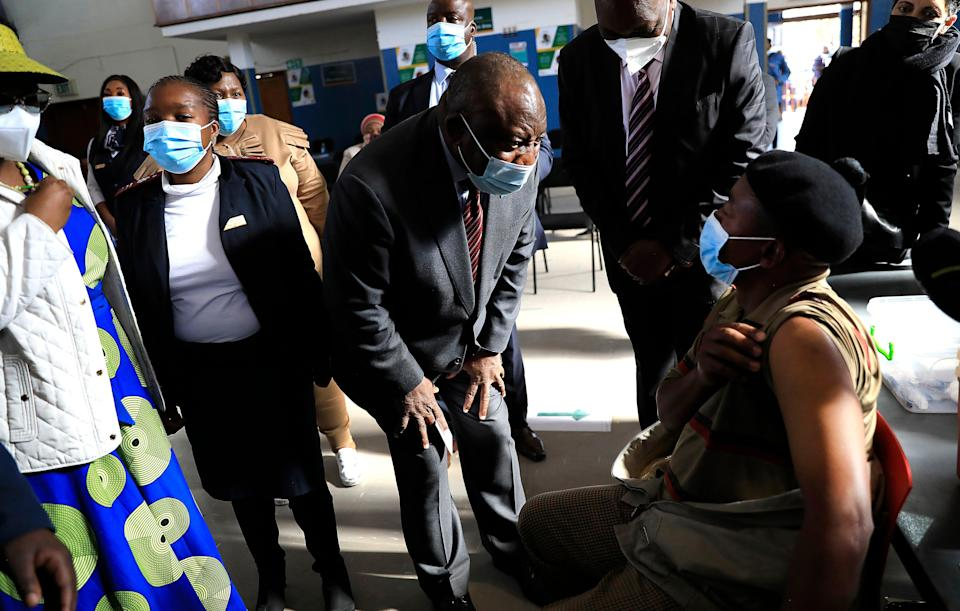 Virus Outbreak South Africa Vaccinations (Copyright 2021 The Associated Press. All rights reserved.)