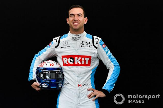 "#6: Nicholas Latifi (Williams-Mercedes) <span class=""copyright"">Mark Sutton / Motorsport Images</span>"