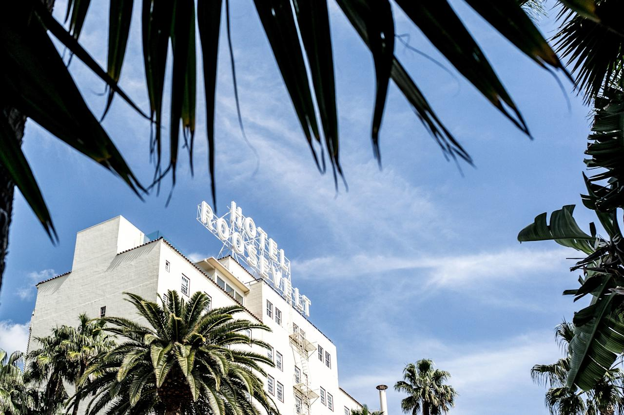 "You've never met ghosts as famous as the ones that haunt the <a href=""https://www.cntraveler.com/hotels/united-states/los-angeles/hollywood-roosevelt-hotel?mbid=synd_yahoo_rss"">Hollywood Roosevelt</a>. The first Academy Awards were held at this oft-filmed hotel back in 1929, and movies stars tended to live there for long stretches of time. Today, there have been reports that <a href=""https://journalhotels.com/thejournalist/7451/haunted-la-gourmet-ghosts-in-the-city-of-angels/"" target=""_blank"">Marilyn Monroe's spirit</a> hangs out in one room's mirror, while Montgomery Clift's voice echoes throughout his old suite. Even if you're not a fan of bygone film legends, you can still get goosebumps from the hotel's high-drama lobby and views of the Hollywood sign."