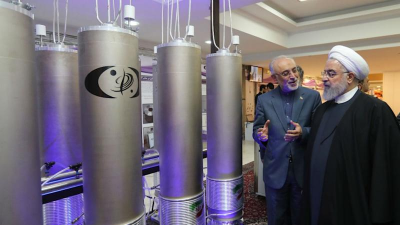 Upping pressure, Iran says will breach uranium stockpile limit in 10 days
