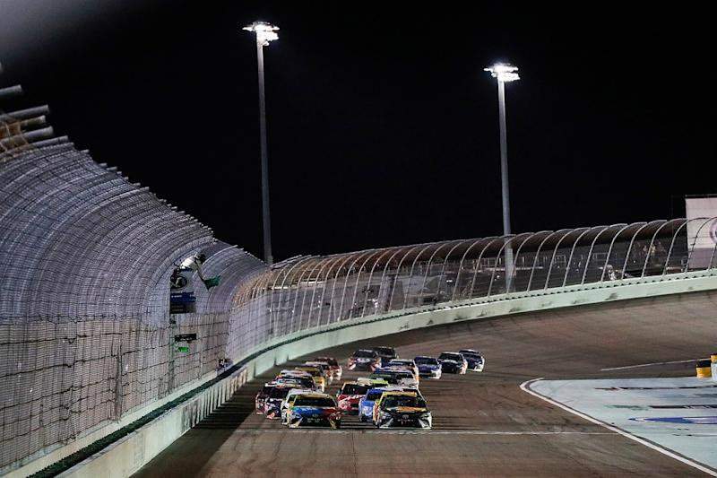 Logano wins first Cup Series championship / MRN's Moore retires