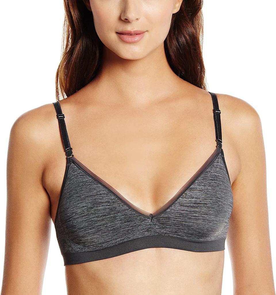 <p>This affordable <span>Hanes Comfy Support ComfortFlex Fit Wirefree Bra</span> ($9, originally $14) is an editor favorite. It's unbelievably comfortable.</p>