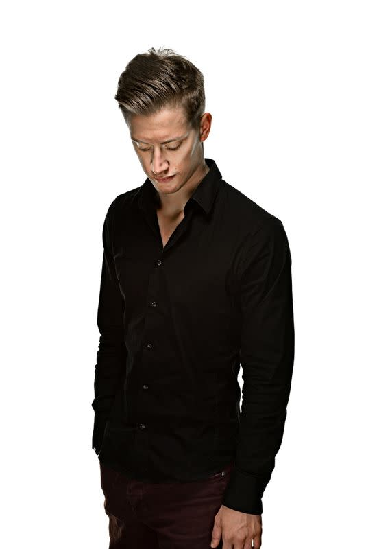 Scottish stand-up comedian Daniel Sloss poses in this undated handout photo