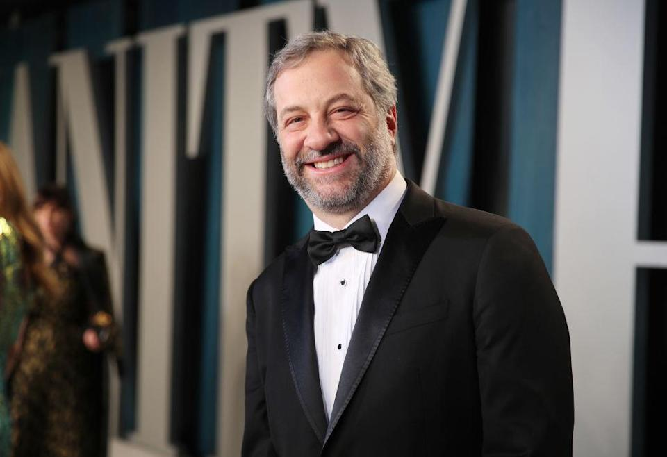 Judd Apatow at the Vanity Fair Oscars after party