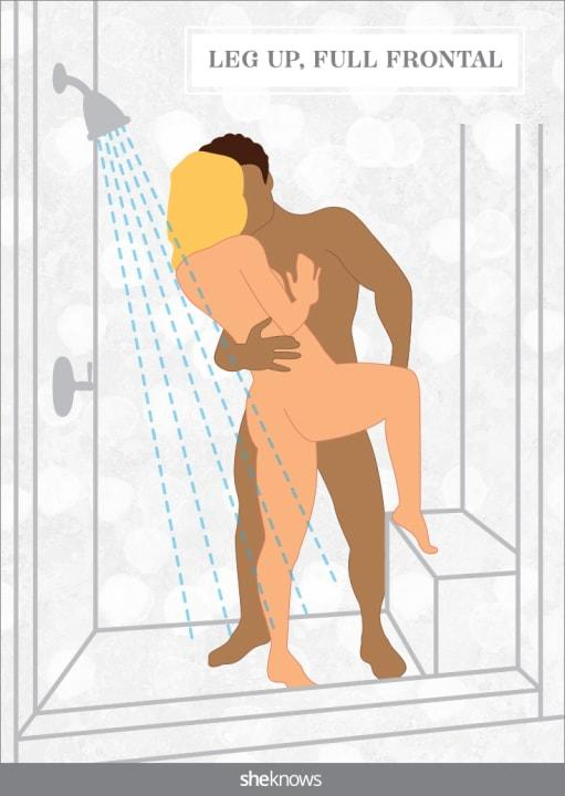Once you master the art of not slipping, shower sex is perfect for the morning quickie.