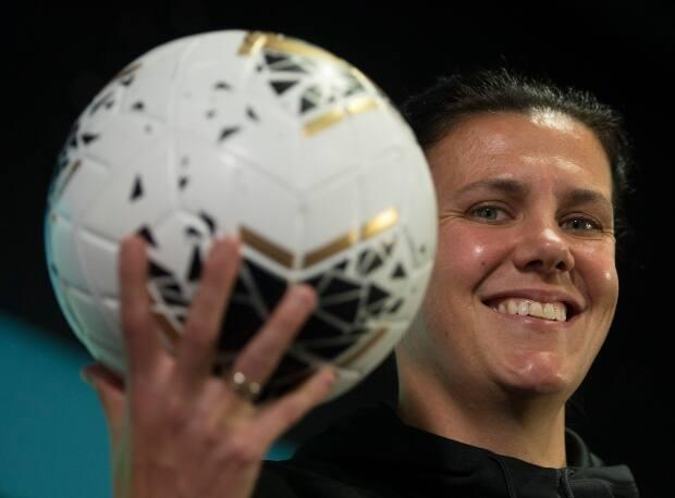 The former Fortius centre in Burnaby has been renamed the Christine Sinclair Community Centre.    (Jonathan Hayward/Canadian Press  - image credit)