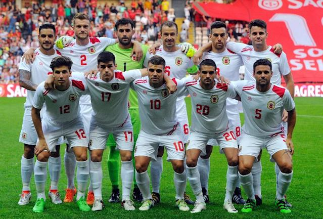 Gibraltar won a long battle with FIFA in June when they were accepted to join the European qualification stages for the World Cup (AFP Photo/Miguel Riopa)