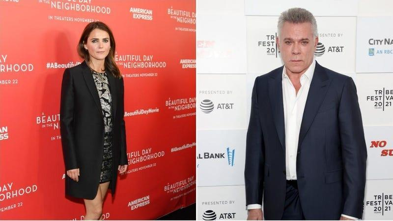 Keri Russell (Mike Coppola/Getty Images), Ray Liotta (Cindy Ord/Getty Images for Tribeca Festival)