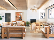 """<p>The Curious Yellow team recently finished bringing their designs for <a href=""""https://www.therockawayhotel.com/"""" rel=""""nofollow noopener"""" target=""""_blank"""" data-ylk=""""slk:The Rockaway Hotel"""" class=""""link rapid-noclick-resp"""">The Rockaway Hotel </a>to life in the eponymous beach community. The duo was inspired by the unique and diverse Rockaway community, '60s beach culture, Scandinavian and Indonesian surf culture, and Norman Jaffe's love for nature. </p><p><strong>What does boutique hotel design mean to you?</strong></p><p>""""To us, a boutique hotel is meant to feel like home yet transport you to an eclectic, warm, and inviting space with various nooks and crannies to enjoy. This was everything we thought about when we designed Rockaway. A sense of comfort and nostalgia with a new sense of inspiration."""" - Chloe Pollack-Robbins</p><p><strong>What are your best tips for helping people emulate boutique hotel style at home?</strong></p><p>""""Purchase vintage fabrics to reupholster chairs and make pillows. Sisel rugs are very inexpensive but beachy and natural. Rattan furniture is very popular right now, making it easy to find something that emulates that '60s feel. We also love to buy secondhand art books and surf books at the Strand."""" — Anna Cappelen</p>"""