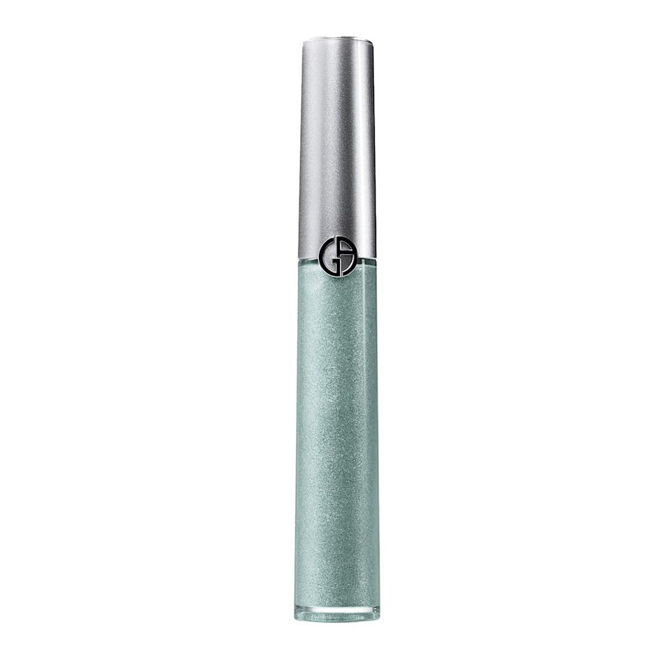 """<p>Black says she can't get enough of Giorgio Armani's Eye Tints and especially loves layering them for ultra-intense looks. """"The creamy, lightweight texture is so easy to blend with fingers or a brush and they stay put without creasing for ages,"""" she says. </p> <p><strong>$30</strong> (<a href=""""https://shop-links.co/1717643445207598885"""" rel=""""nofollow noopener"""" target=""""_blank"""" data-ylk=""""slk:Shop Now"""" class=""""link rapid-noclick-resp"""">Shop Now</a>)</p>"""