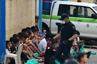 Minors were among 8,000 migrants who poured into the Spanish enclave of Ceuta this week from Morocco; most of the arrivals were sent straight back
