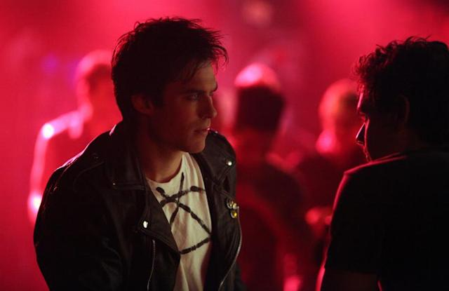"""Because the Night"" -- Ian Somerhalder as Damon and Aaron Jay Rome as Will"
