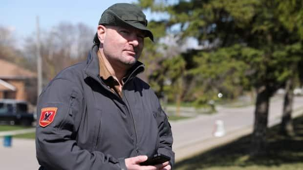 Walter Schultz recorded all his exchanges with Bell Mobility customer service agents to make sure he'd get what he was promised.  (Jonathan Castell/CBC - image credit)