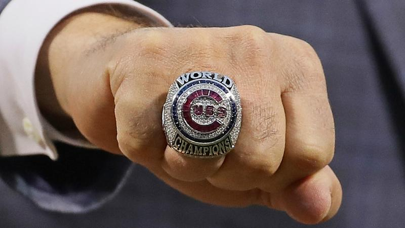 Cubs reserve right to buy World Series ring back for $1