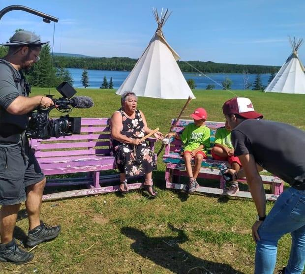 Filmmakers travelled across the country to document stories for the new documentary film, For Love. (Carrier Sekani Family Services - image credit)