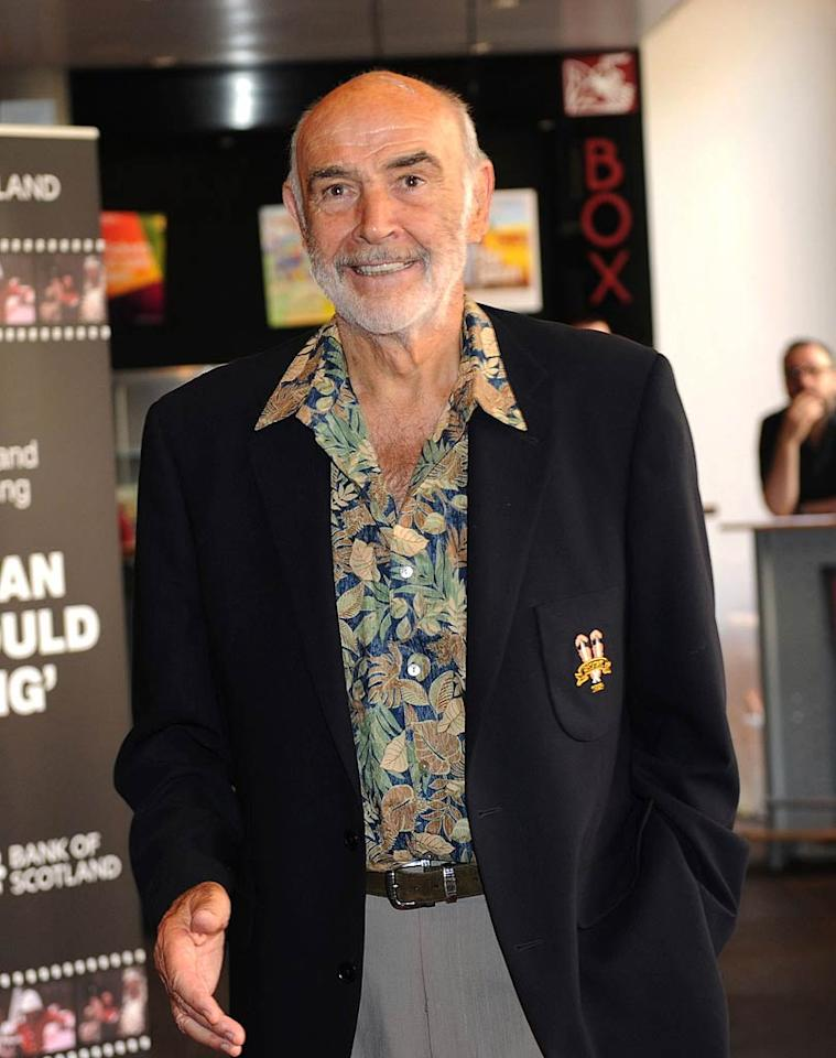 """Sean Connery turns 81. Ian Jacobs/<a href=""""http://www.wireimage.com"""" target=""""new"""">WireImage.com</a> - June 20, 2010"""