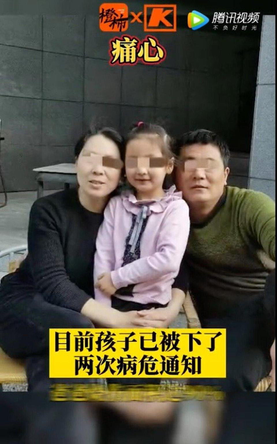 Zhai Xiaojuan (left), the wife and mother in the family, was riding next to the father and daughter when the bike exploded. Photo: Handout