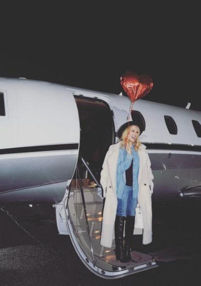 Kylie Minogue has shared the love with this new social media photo. Source: Instagram