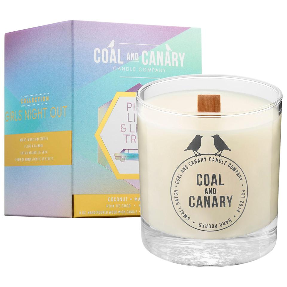 "<p><strong>Coal and Canary</strong></p><p>sephora.com</p><p><strong>$28.00</strong></p><p><a href=""https://go.redirectingat.com?id=74968X1596630&url=https%3A%2F%2Fwww.sephora.com%2Fproduct%2Fpink-lips-limo-trips-P432415&sref=https%3A%2F%2Fwww.cosmopolitan.com%2Flifestyle%2Fg32798945%2Fbest-organic-natural-candles%2F"" rel=""nofollow noopener"" target=""_blank"" data-ylk=""slk:Shop Now"" class=""link rapid-noclick-resp"">Shop Now</a></p><p>No fireplace? No problem. This soy-based candle has a wooden wick that'll make the same cozy, crackle sounds you hear while sitting near a chimney.</p>"