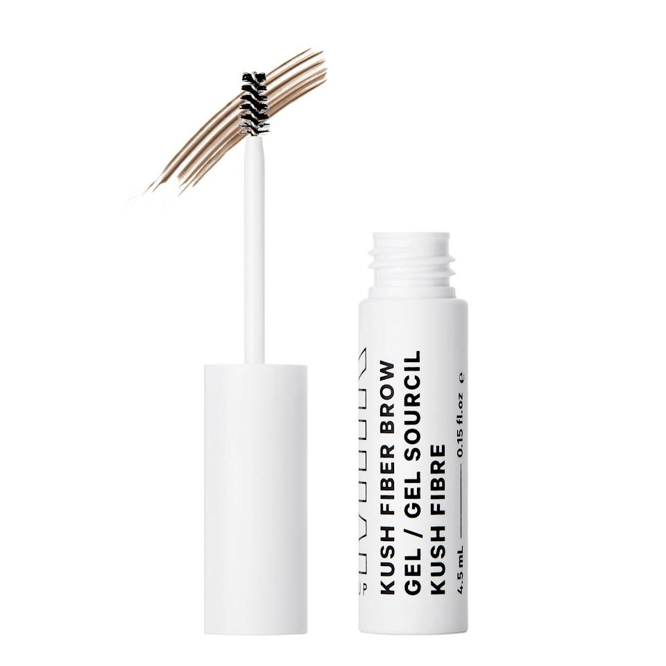 <p>The top-rated <span>Milk Makeup Kush Fiber Eyebrow Gel</span> ($20) - and its <span>clear alternative</span> - both pack conditioning, hemp-derived cannabis seed oil for work shaping and defining brows. This one adds in hollow, tinted fibers to sweep a layer of color on top of hairs. and adds the fullness sparse brows are lacking.</p>