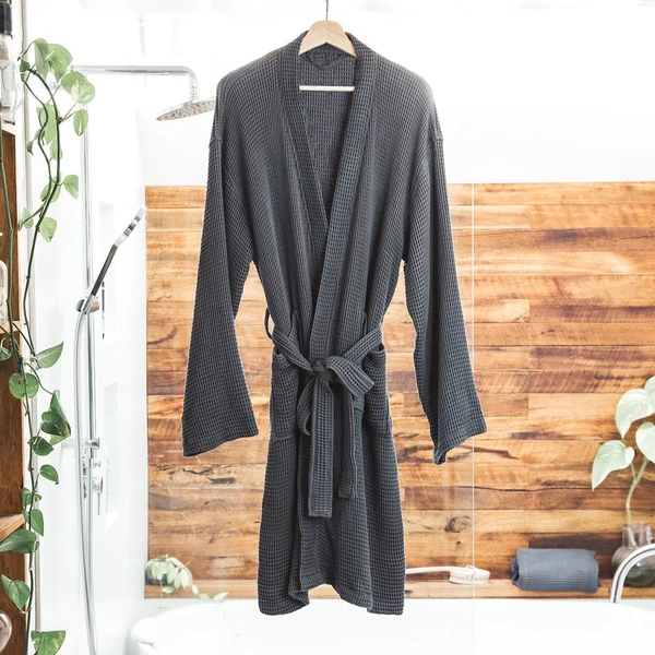 """<h3><h2>ettitude Bamboo Lyocell Waffle Bathrobe</h2></h3><br>This unisex robe, crafted from super-soft and all-natural bamboo lyocell materials, is as cozy as it is absorbent — aka the perfect post-shower luxe loungewear that one reviewer claims is, """"So soft. So comfortable. Absorbs quickly. I wear this all night. The material is just amazing. If pajamas are made in this material, you bet I will be stocking up on them.""""<br><br><br><br><strong>Ettitude</strong> Bamboo Lyocell Waffle Bathrobe, $, available at <a href=""""https://go.skimresources.com/?id=30283X879131&url=https%3A%2F%2Fwww.ettitude.com%2Fproducts%2Fwaffle-bathrobe"""" rel=""""nofollow noopener"""" target=""""_blank"""" data-ylk=""""slk:Ettitude"""" class=""""link rapid-noclick-resp"""">Ettitude</a>"""