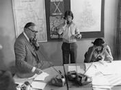 <p>Imagine an entire office taking calls all from the same conference room. For many office workers in the 70's, this was the only option as all phone lines were tied to the same phone jack. </p>