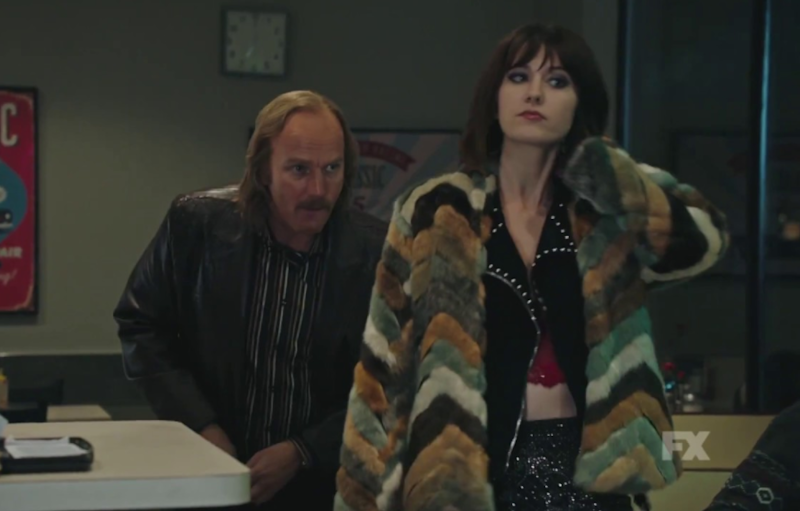 Ewan and Mary in Fargo. Source: FX