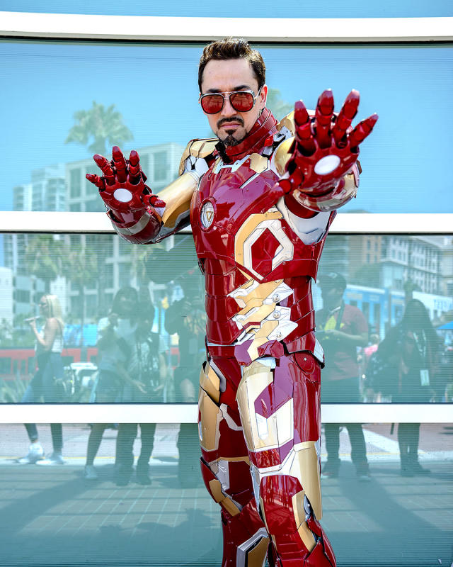 <p>Cosplayer dressed as Iron Man at Comic-Con International on July 19, 2018, in San Diego. (Photo: Christy Radecic/Invision/AP) </p>