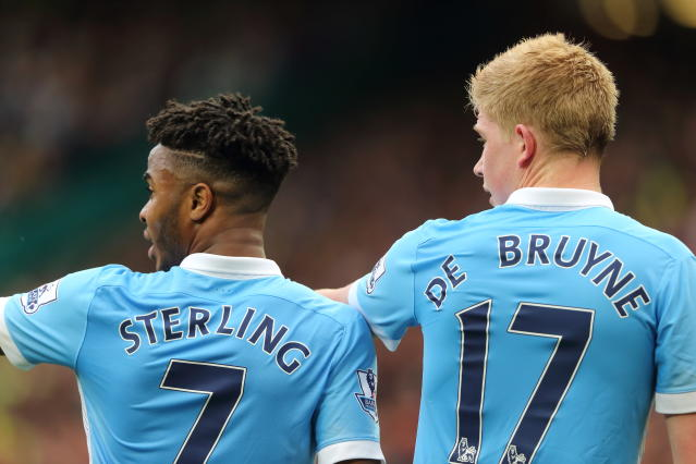 "<a class=""link rapid-noclick-resp"" href=""/soccer/teams/manchester-city/"" data-ylk=""slk:Manchester City"">Manchester City</a>, like other English clubs, has bought big in recent years. But they haven't won big. (Getty)"