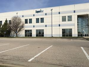 The new facility features 12,000 square feet of office and warehouse space.