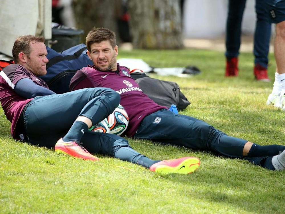 Gerrard has also been linked with a role within the England setup (Getty)