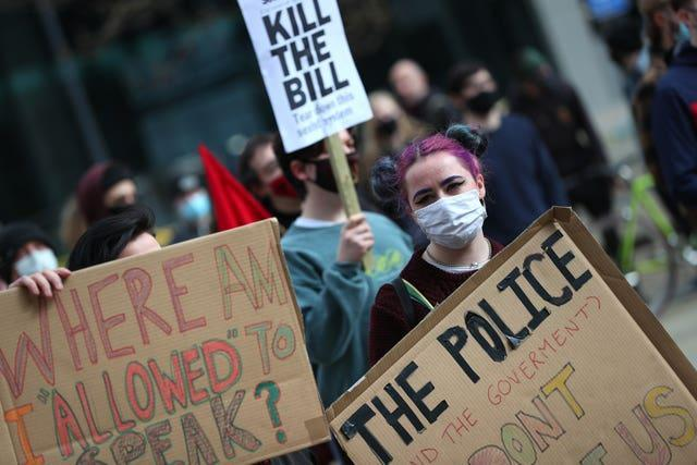 Several previous Kill The Bill protests ended in clashes between police and demonstrators