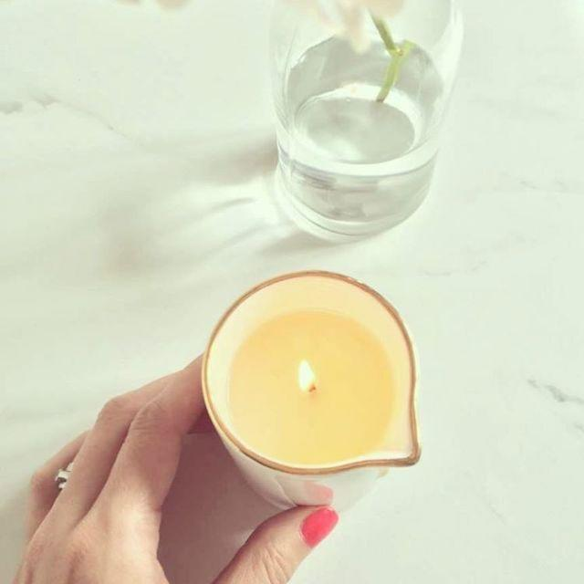 <p>With wax designed to melt down to the perfect temperature, these candles transform from mood-setting flickers to therapeutic oil and lotion blends. They're 100 percent safe for your skin—so light them up and slather them on.</p>