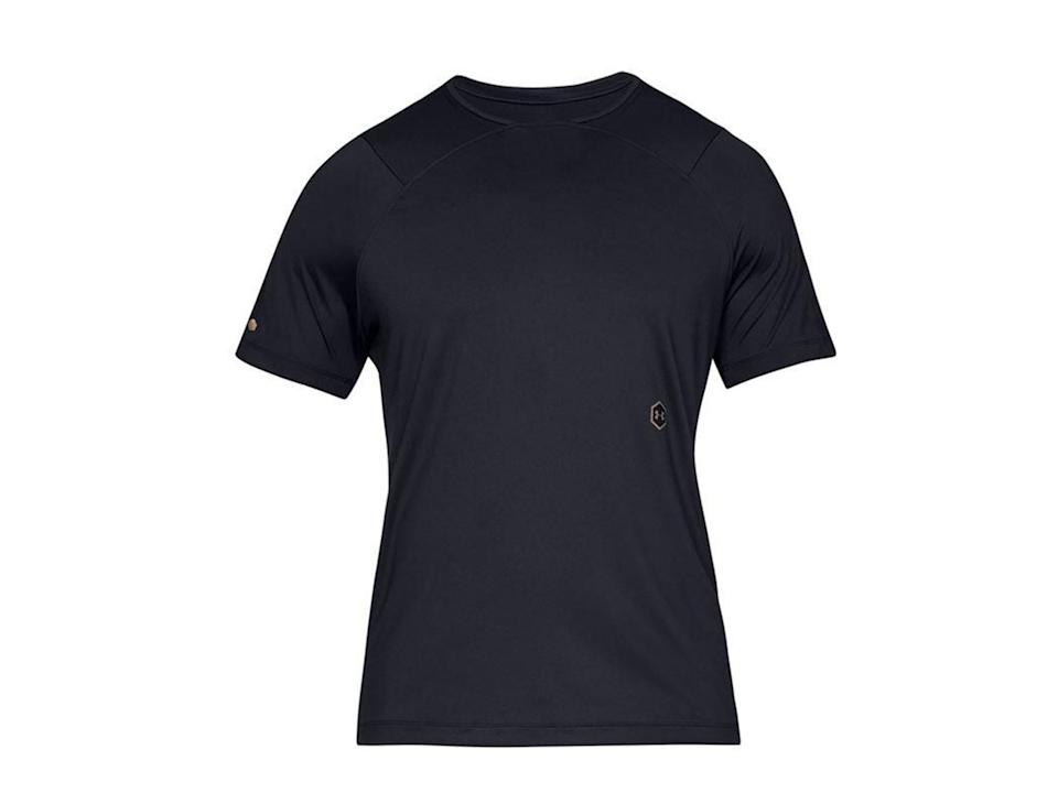 For men, our reviewers found thist-shirt fit well and is fast-dryingUnder Armour