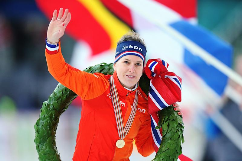 Ireen Wüst of the Netherlands won more medals than any athlete in any sport at the Sochi Games in 2014. (Joosep Martinson - ISU via Getty Images)