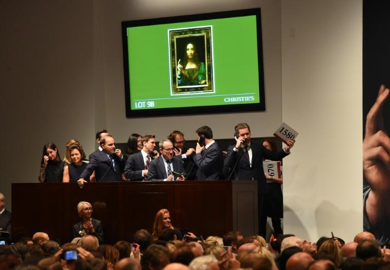 The painting was initially bought in 2005 for just $1,175 by a New York art dealer and restored in the United States