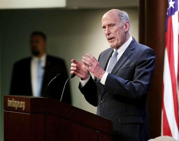 PHOTO: U.S. Director of National Intelligence Dan Coats delivers remarks on Oct. 13, 2017, in Washington, D.C. (Chip Somodevilla/Getty Images)