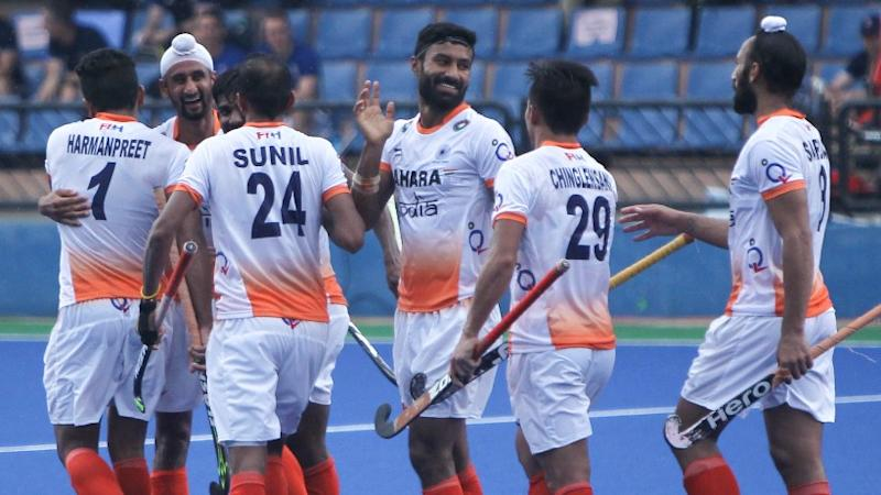 Mandeep Singh's Hat-Trick Guides India to a 4-3 Win Over Japan