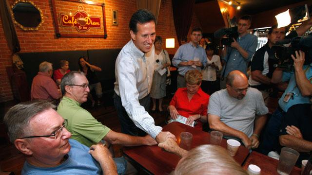 Rick Santorum's Way to Win? Run a Campaign on a Shoestring Budget